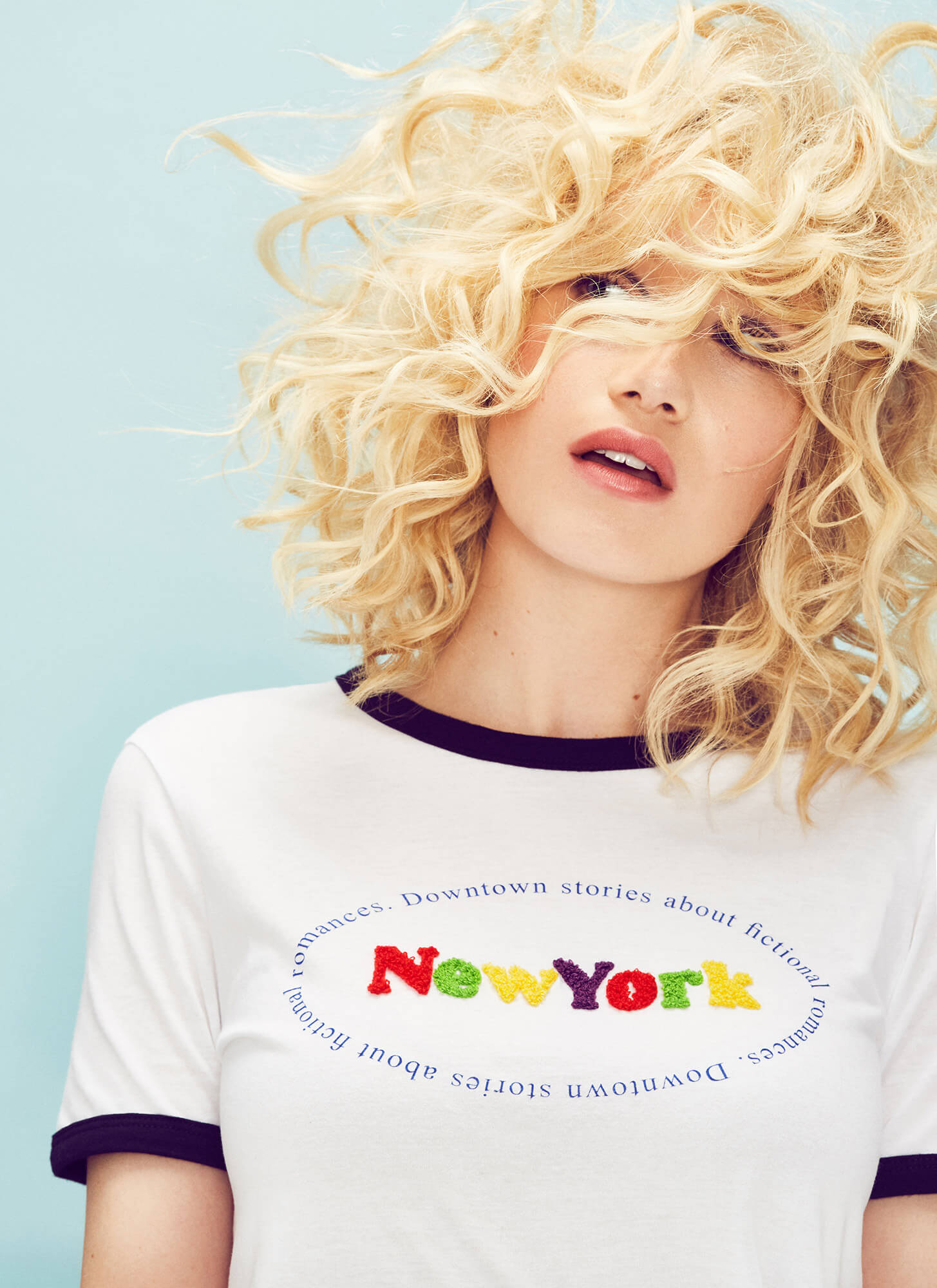 Vika Pobeda - Los Angeles Fashion Photographer / Zara NY T-shirt