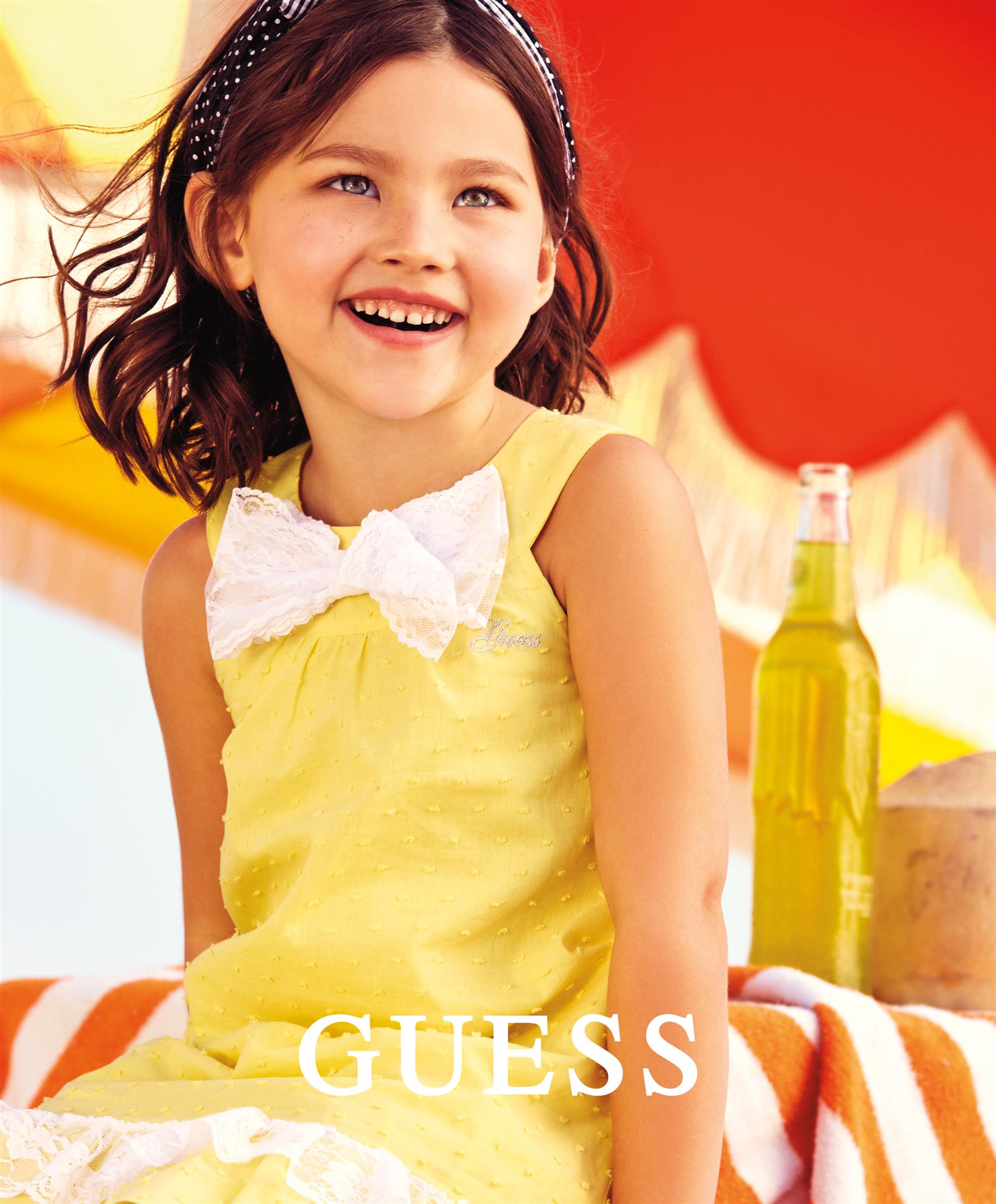 Vika Pobeda - Kids Fashion Photography Guess Kids