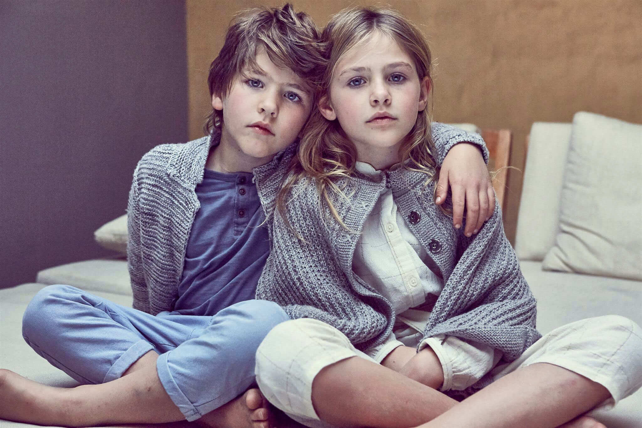 Child Fashion Photography | The Siblings | VIKA POBEDA