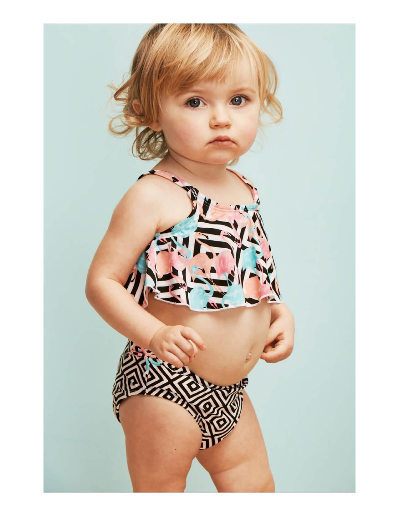 Vika Pobeda - Baby Photography Nordstrom Kids Summer Campaign