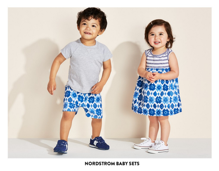 Vika Pobeda - Baby Photography Nordstrom Kids Shoot